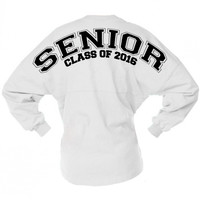 School Spirit Senior Class Of 2016 Game Day Jersey