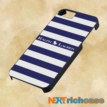 Polo Ralph Lauren Blue White Stripes For iPhone, iPod, iPad and Samsung Galaxy Case