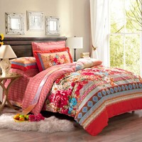Floral Vector Luxury Bedding Set | EBeddingSets