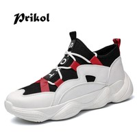 Prikol Classic Mixed Color Luxury Brand Men Tennis Shoes LightWeight Sports Shoes For Men Dropshipping Sneaker Obuv