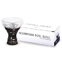 Sahara Smoke Aluminium Hookah Bowl Foil Roll 150 Servings