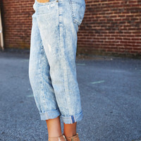 Big Star Wash Out Boyfriend Skinnies