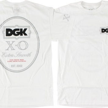 DGK Xo Tee Small White