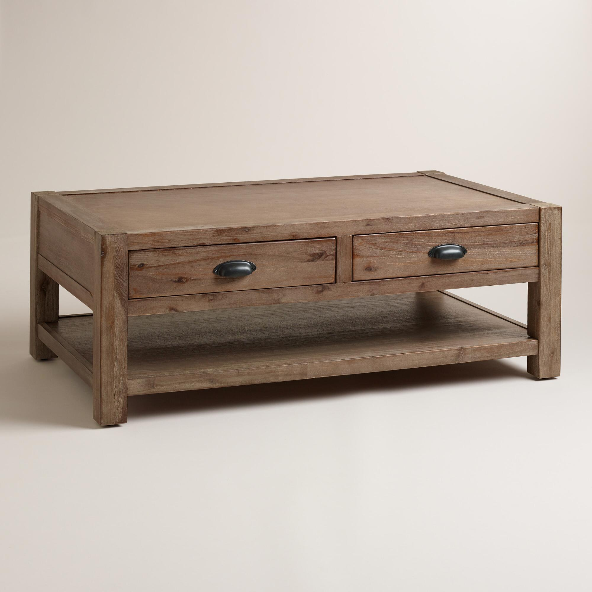 Wood Quade Coffee Table From Cost Plus World Market Home