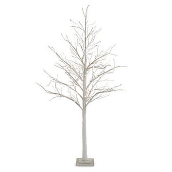 LED Glitter Tree 7' | ho15 living1 | Living Room | Inspiration | Z Gallerie