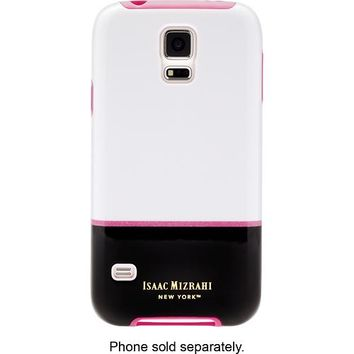 Isaac Mizrahi New York - Case for Samsung Galaxy S 5 Cell Phones - White/Black
