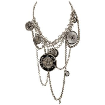 Chanel 100 Yr Collectible Anniversary Charm Necklace
