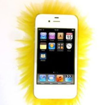 Furrywraps, Furry Iphone 4 4s Case Cover Yellow