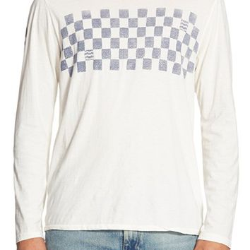 Men's Sol Angeles 'Checker Wave' Long Sleeve T-Shirt,