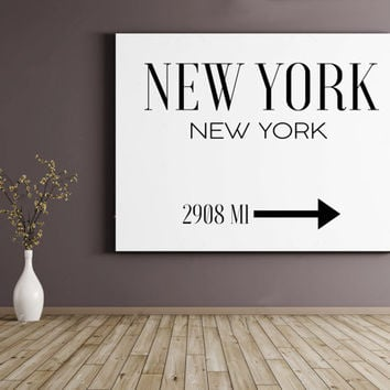 FASHION PRINT,New York Art,Typography Poster,New York City,Typography Wall Art,New York City,Wall Art,New York Print,New York City Poster