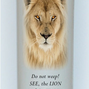 Lion of Judah, Christian Candles, religious candles, Jesus Christ, inspiration candles, spiritual candles, everlasting candle, bible candles