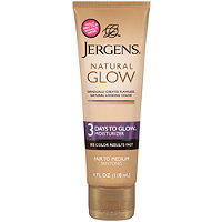 Self Tanning Jergens Natural Glow 3 Days To Glow Moisturizer Fair To Medium Ulta.com - Cosmetics, Fragrance, Salon and Beauty Gifts