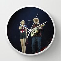 RED TOUR 2014 Wall Clock by swiftstore