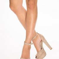 Ankle Strap Sandal, NLY Shoes