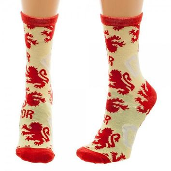 Harry Potter Gryffindor Juniors Crew Socks