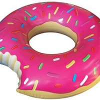 Big Mouth Toys Gigantic Donut Pool Float: Toys & Games