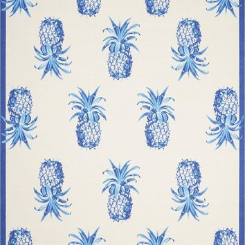 Sun & Shade Pineapple Grove Ivory Indoor/Outdoor Rug - 3 Size Options