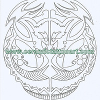 Neo Tribal Tattoo Flash Inspired Coloring Book Digital Downloads Available .99 Cents