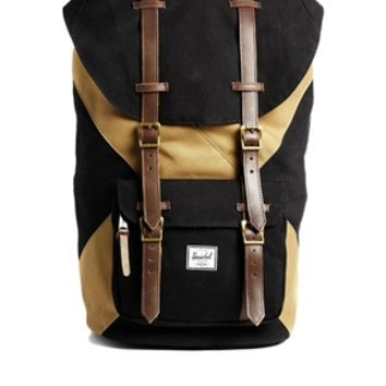 Herschel Little America Backpack - Black/beige