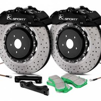 KSport® - SuperComp Front Brake Kit