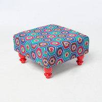 Small Fabric Stool | Furniture