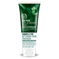 Tea Tree Oil Cool & Creamy Face Wash for Oily Skin | The Body Shop | The Body Shop ®