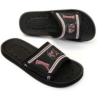 South Carolina Gamecocks Slide Sandals - Adult (Black)