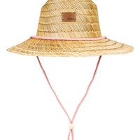 Pretty Smiles Straw Sun Hat 192504333064 | Roxy