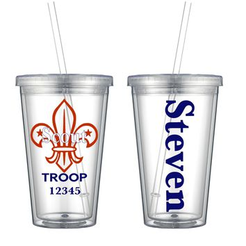 Hand Crafted Scout Double Wall Tumbler - Free Shipping
