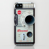 Brownie 8mm Movie Camera iPhone & iPod Case by Typography Photography™