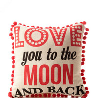 Moon And Back Decor Pillow