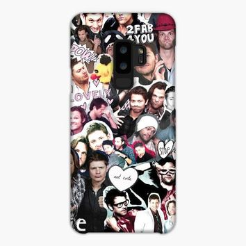Destiel Supernatural Collage Samsung Galaxy S9 Plus Case