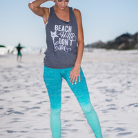 Namaste In Motion Yoga Pants, Teal