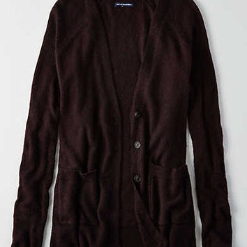 AEO Ahhhmazingly Soft Cardigan , Plum
