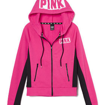 Perfect Zip Hoodie - PINK - Victoria's from VS PINK