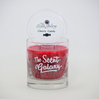 Cherry Candy Fragrance in Palm Wax , Highly Scented Candle