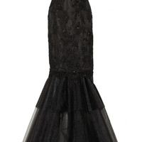 Notte by Marchesa Embellished lace and tulle gown – 54% at THE OUTNET.COM
