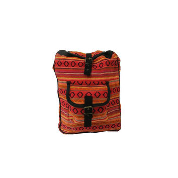 WillaRue Aztec Daypack Sunset/ Black
