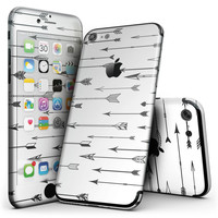 Vector Black Arrows - 4-Piece Skin Kit for the iPhone 7 or 7 Plus
