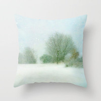Winter Wonderland Throw Pillow by Ally Coxon | Society6