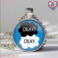 """The Fault in Our Stars """"Okay Okay"""" Necklace best"""