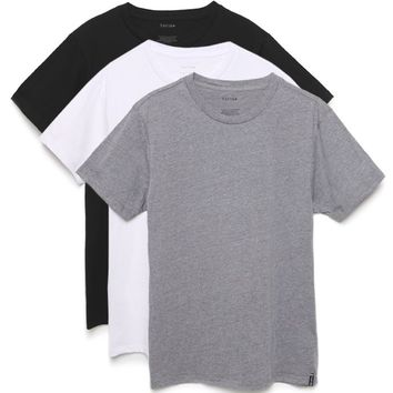 Tavik Three Pack Crew T-Shirt - Mens Tee