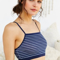 BDG Square-Neck Cotton Bra