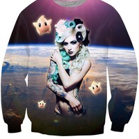 Space Queen Crewneck Sweatshirt