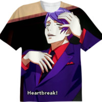 Tokyo Ghoul- Tsukiyama Shuu created by Kaneki-Ken-Did-Nothing-Wrong-Yo | Print All Over Me