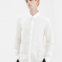 Totokaelo - Maison Martin Margiela Off White Slim Fit Button Up - $315.00