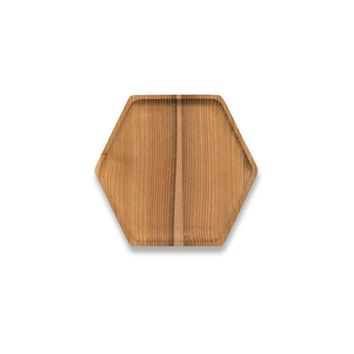 Cedar Wood Hex Tray - Small
