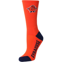 Syracuse Orange Women's Vertical Stripe Quarter-Length Socks – Orange