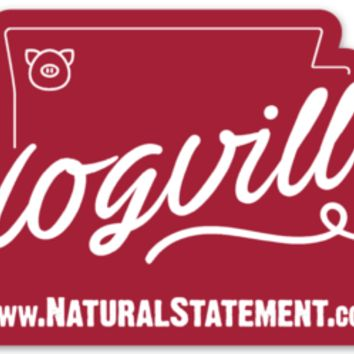 Hogville Sticker