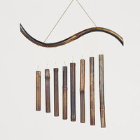 Bamboo Pipes Wind Chime - World Market